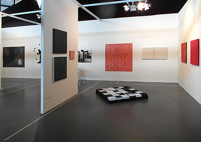 Susanne Lyner, the solo projekt 2014, Messestand