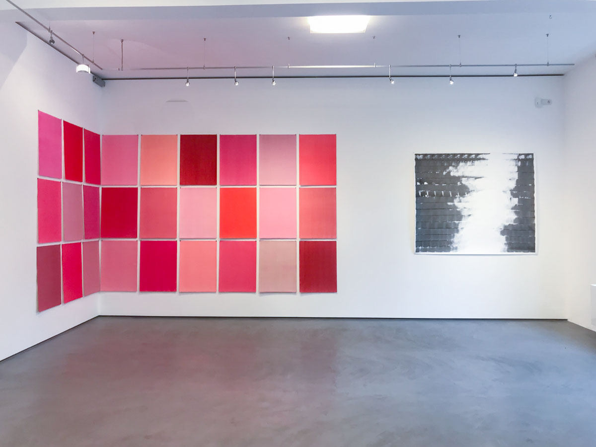Susanne Lyner in Positions On Paper, Galerie judith Andreae